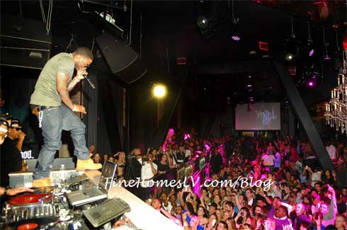 Nelly At Chateau Nightclub