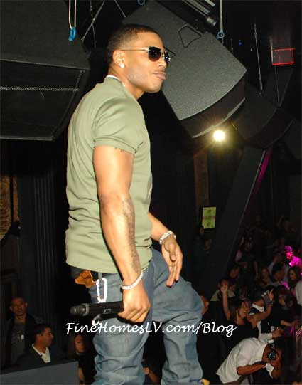 Nelly Performs At Chateau