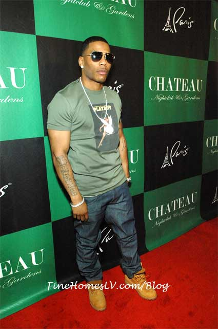 Nelly On The Red Carpet At Chateau