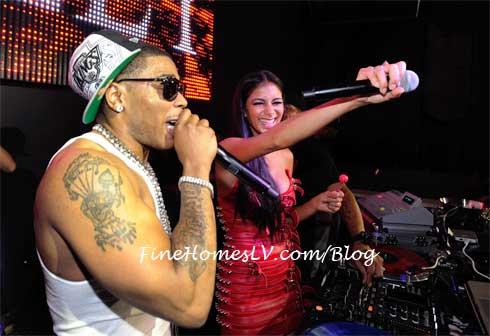 Nelly and Nicole Scherzinger