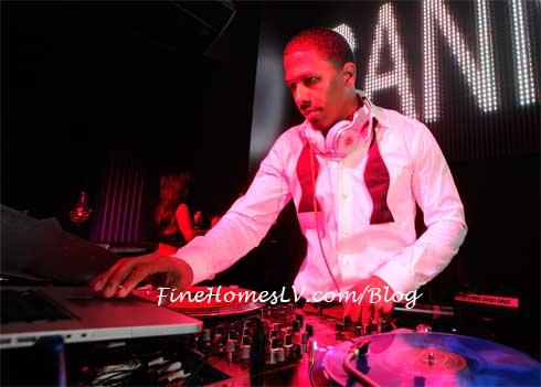 Nick Cannon at Chateau Nightclub