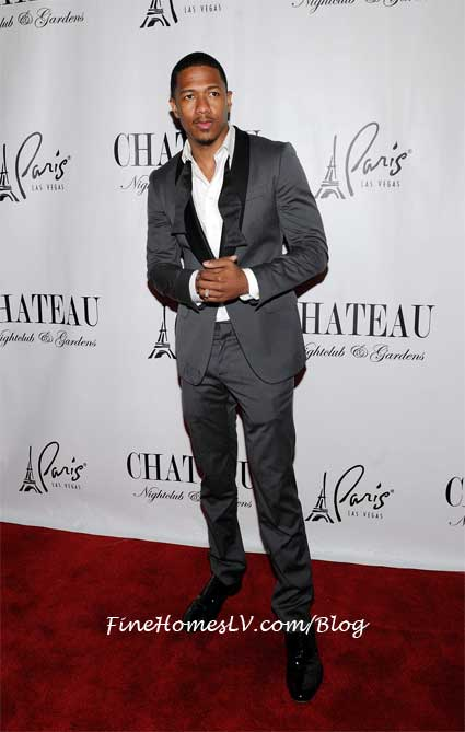 Nick Cannon at Chateau Nightclub