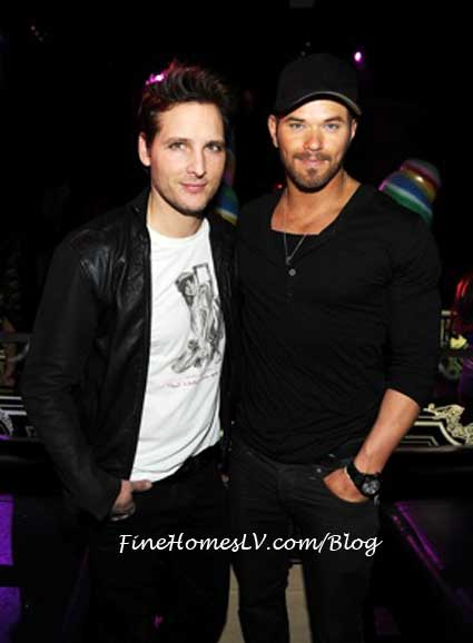 Peter Facinelli and Kellan Lutz