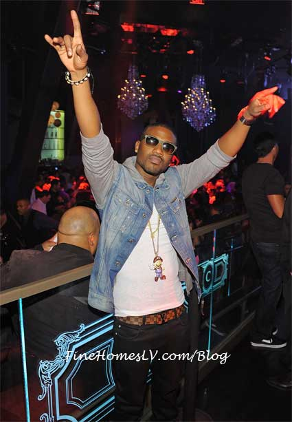 Ray J at Chateau Las Vegas