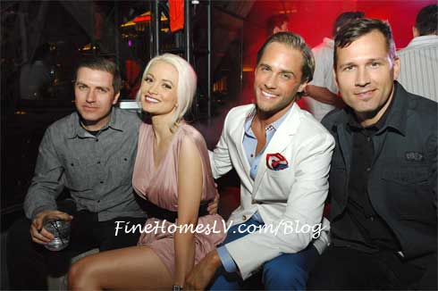 Pasquale Rotelli, Holly Madison, Josh Strickland and DJ Kaskade