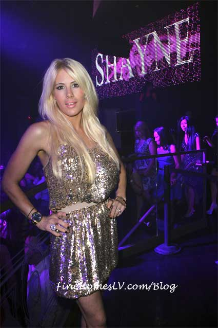 Shayne Lamas at Chateau Nightclub