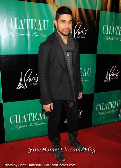 Wilmer Valderrama at Chateau Nightclub
