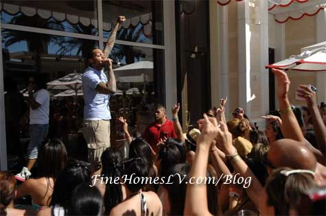 Travie McCoy at Encore Beach Club