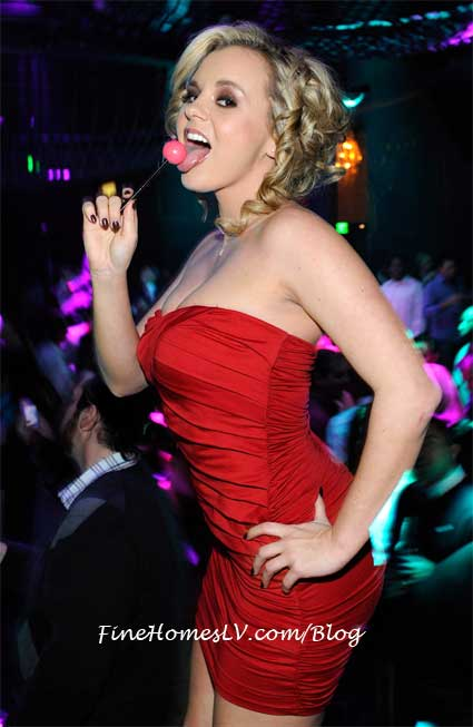 Bree Olson With Couture Lollipop