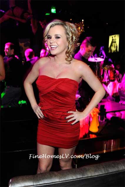 Bree Olson at Gallery Nightclub Las Vegas