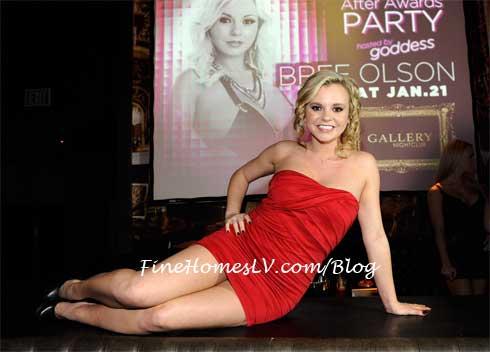 Bree Olson at Gallery Nightclub