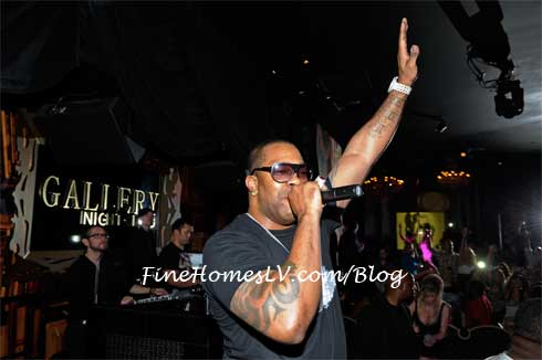 Busta Rhymes at Gallery Nightclub