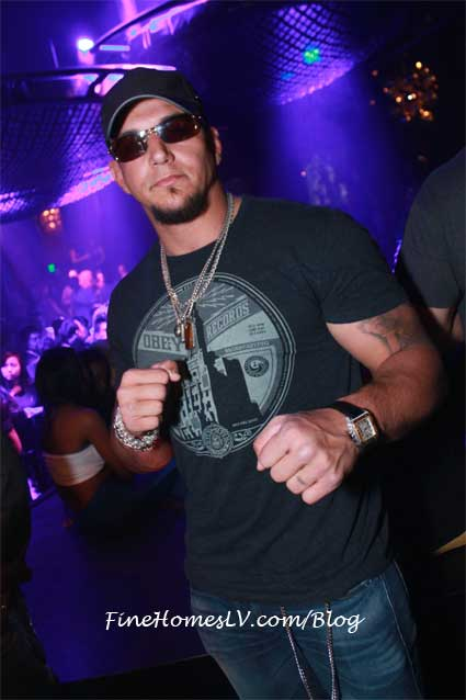 Frank Mir at Gallery Nightclub