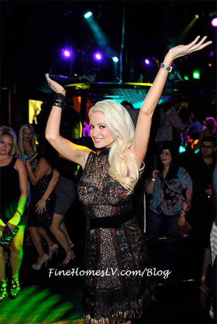 Holly Madison at Gallery Nightclub