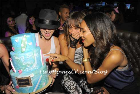Sasha Jackson and Elizabeth Mathis Birthday Cake