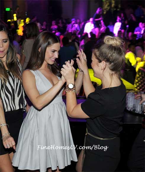 Jessica Lowndes at Gallery Las Vegas Nightclub