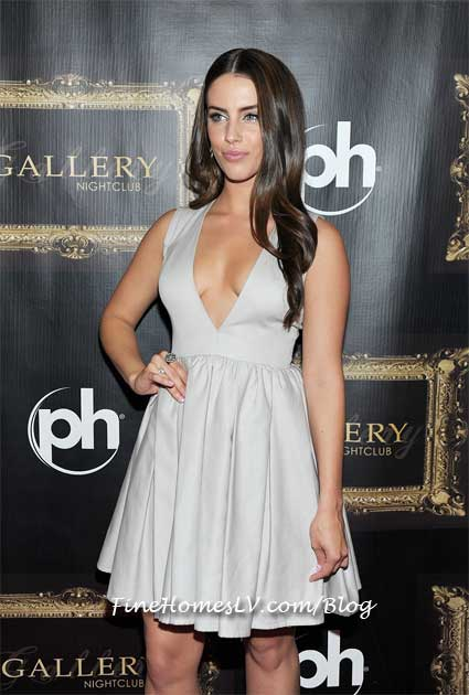 Jessica Lowndes at Gallery Las Vegas