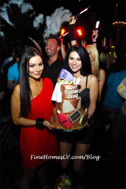 JWoww and Birthday Cake at Gallery Nightclub