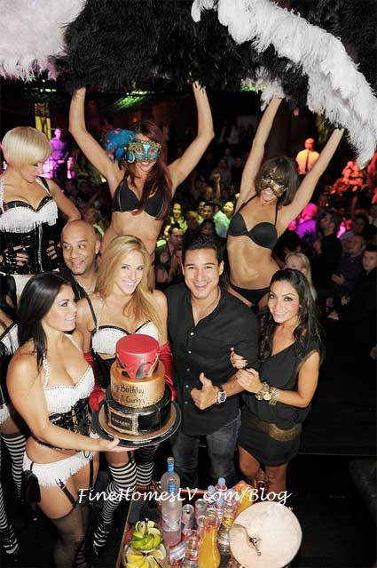 Mario Lopez and Pussycat Dolls