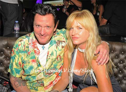 Michael Madsen and Deanna