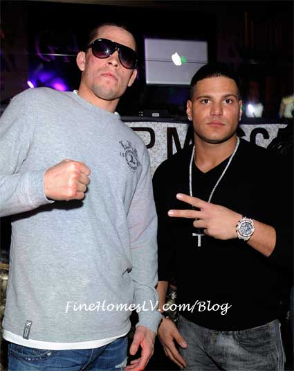 Nate Diaz and Ronnie Magro