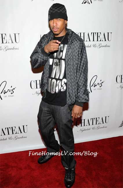 Nick Cannon at Gallery Nightclub