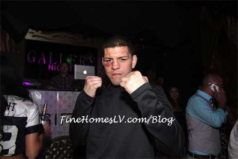 Nick Diaz at Gallery Nightclub