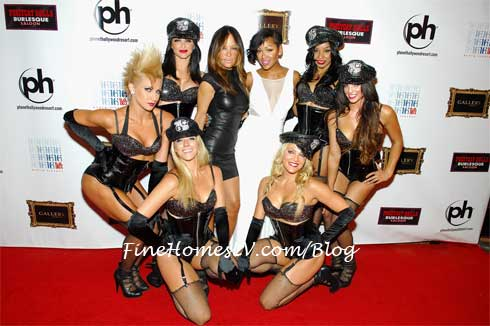 Meagan Good, Robin Antin and Pussycat Dolls