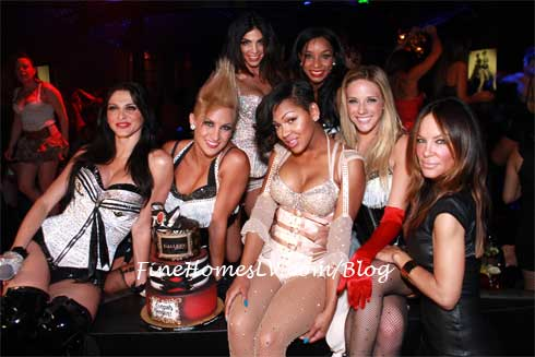 Meagan Good and Pussycat Dolls