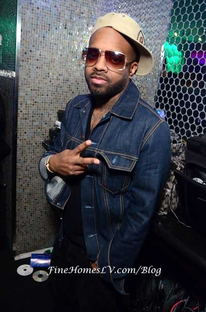 Jermaine Dupri at Ghostbar