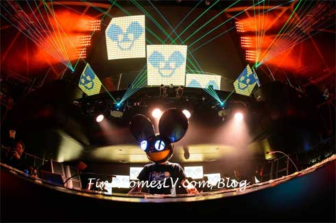 Deadmau5 at Hakkasan Nightclub