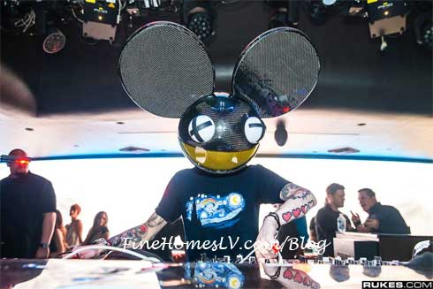 deadmau5 at Hakkasan Las Vegas
