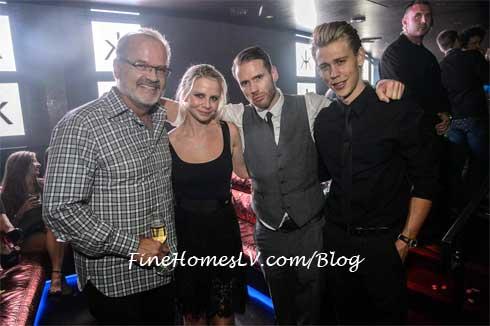 Kelsey Grammer, Kayte Walsh, Olivier and Austin Butler