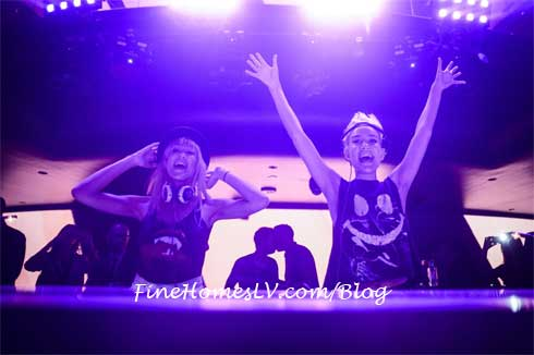 DJ DUO Nervo at Hakkasan