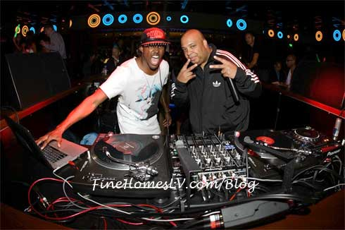 Rev Run and DJ Ruckus at Hakkasan