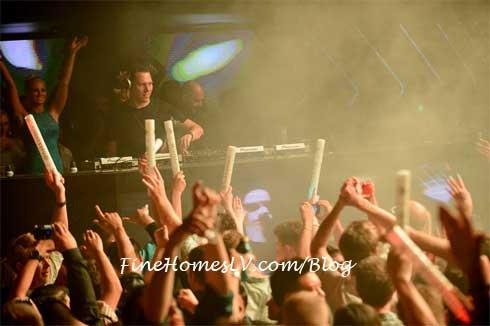 DJ Tiesto at Hakkasan Nightclub