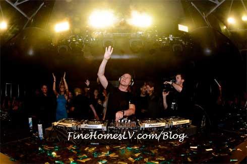 DJ Tiesto at Hakkasan Las Vegas