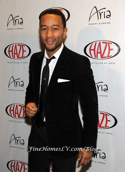 John Legend at HAZE Nightclub