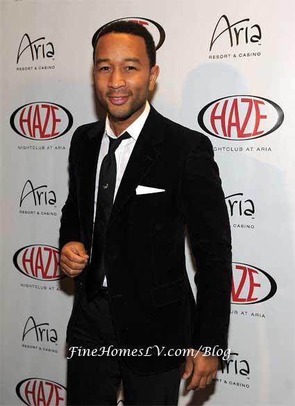 John Legend at HAZE Nightclub