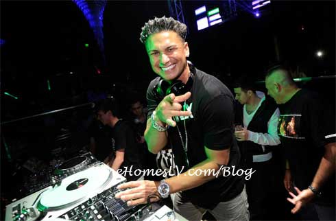 Pauly D at HAZE Nightclub