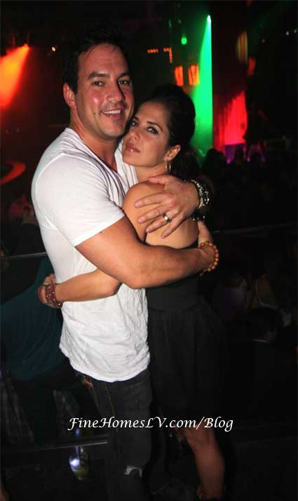 Tyler Christopher and Kelly Monaco