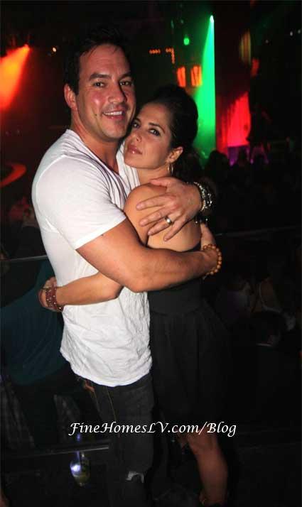 Tyler Christopher and Kelly Monaco