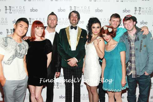 Absinthe Cast at Hyde Bellagio