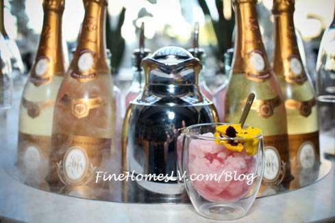Bella Pink Liquid Nitrogen Cocktail