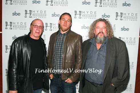 Charlie Hunnam, Mark Boone Jr. and Dayton Callie