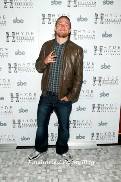 Charlie Hunnam at Hyde Bellagio