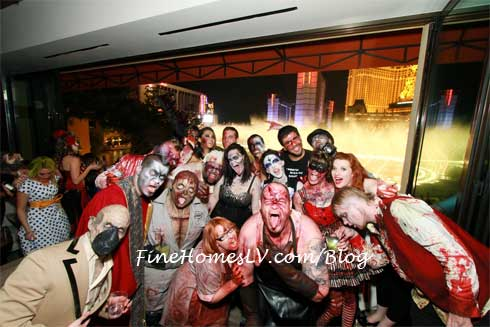 Eli Roth With Zombies at Hyde Bellagio