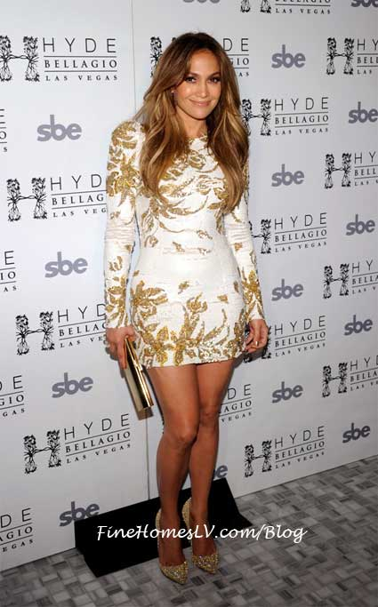 Jennifer Lopez at Hyde Bellagio