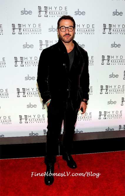Jeremy Piven at HYDE Bellagio Las Vegas