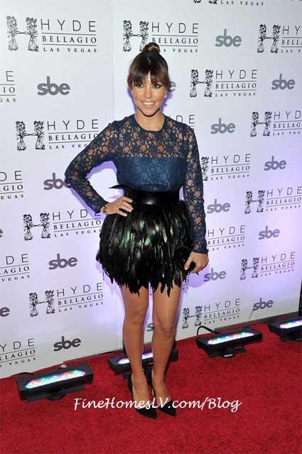 Kourtney Kardashian at Hyde Bellagio
